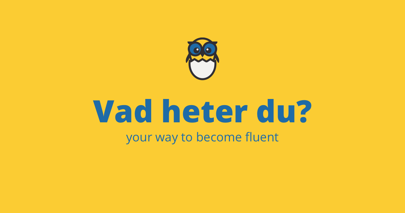 Lesson 5 | First phrases in Swedish